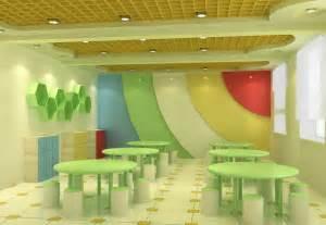 Attractive Cheap Furnishing Ideas 7 Kindergarten Dining Room Interior Design