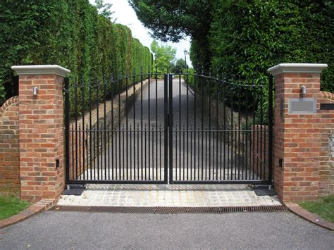 electric gates and security gates portcullis gate automation