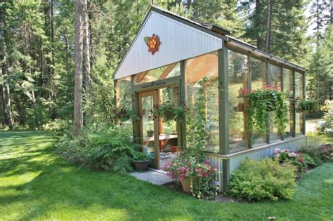 Backyard Greenhouse 23 Wonderful Backyard Greenhouse Ideas