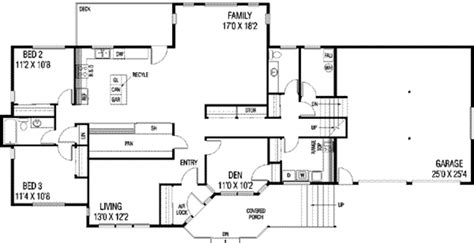 craftsman style house plan 3 beds 2 5 baths 2636 sq ft