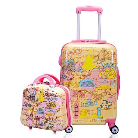 Pattern Travel Set 6 In 1 Bags In Bag Organizer Tas Set Dalam Kope abs travel world pattern series trolley suitcase