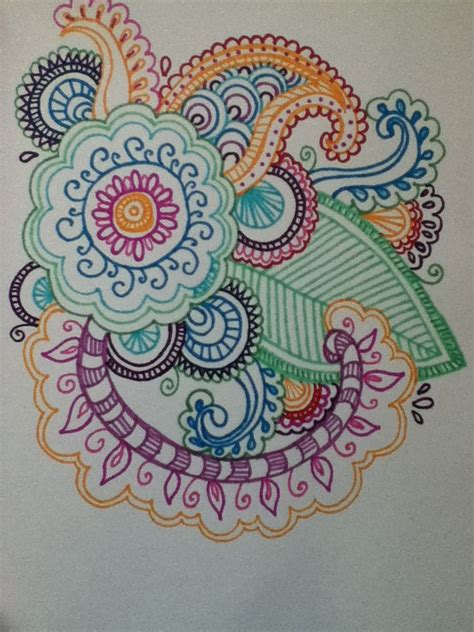 henna design with sharpie henna flower design in sharpie henna designs pinterest