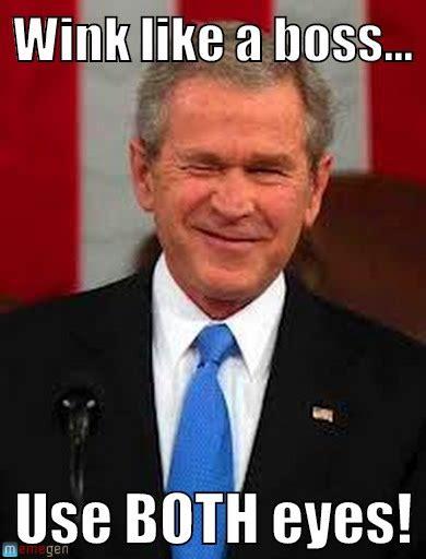Wink Face Meme - wink like a boss wink like a boss on memegen