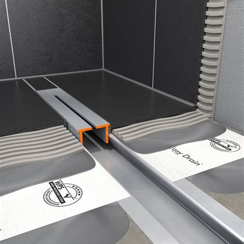 tece douchedrain ess easy drain xs nano 700 komplettset l 70 cm nano line