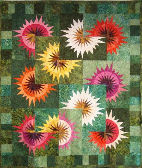 Gardens Inc 3 Flower Patterns 31 Best Images About Quilts On Mariners