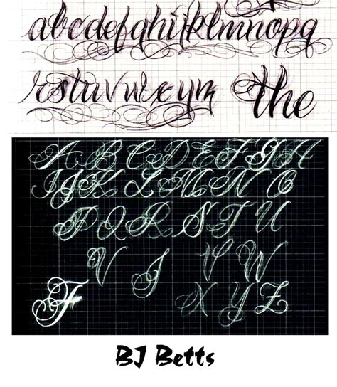 tattoo lettering design program alphabet font gangster free cursive lettering styles for