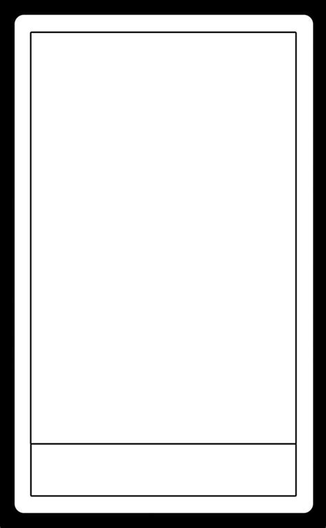 Blank Card Deck Template by Blank Tarot Card Template Pesquisa Tarot