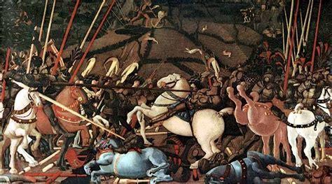lade da lavoro paolo uccello il pittore delle battaglie e dei cavalli