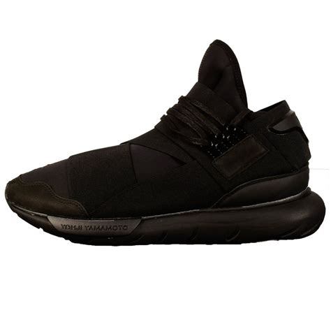 Adidas Y 3 Qasa High In Black by Adidas Y 3 Qasa High Mens Qasa Hi Trainers Black Qasa Hi