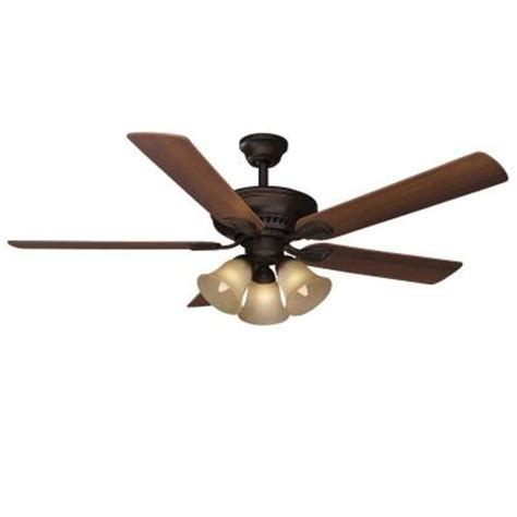 Home Depot Ceiling Fans With Remote by Hton Bay Cbell 52 In Mediterranean Bronze Ceiling