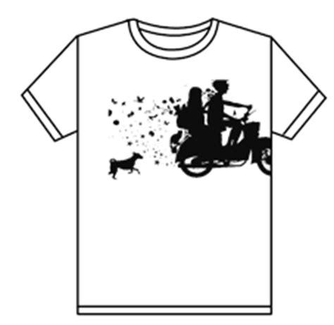 huruf desain distro cara membuat desain kaos baju t shirt distro dengan