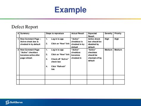 bug summary report template 28 images 100 bug summary