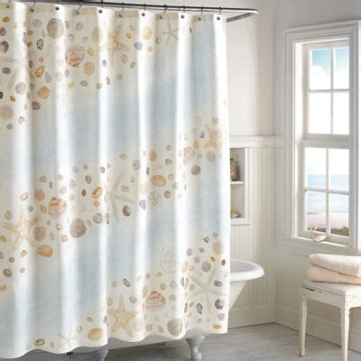 Beachy Shower Curtains Themed Shower Curtains Curtain Menzilperde Net