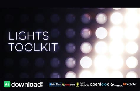 videohive free template animated lights kit free videohive template