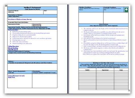 block and beam flooring method statement