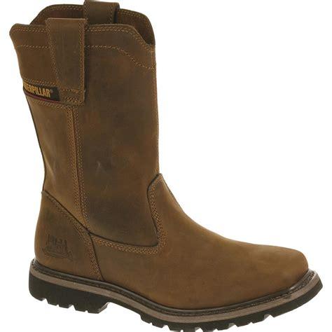 footwear boots cat footwear s wellstone pull on work boots steel toe