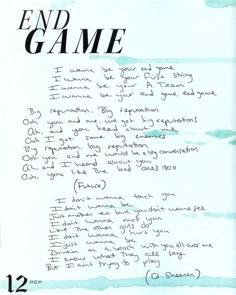end game lyrics decoded tswiftdaily i learned a lot from ethel kennedy