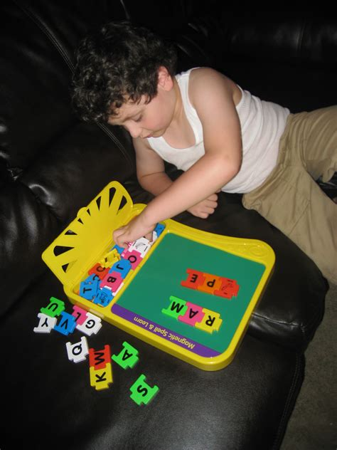 Magnetic Teaching Spelling Board spell parents play