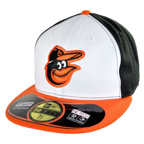 new era baltimore orioles mlb home 5950 fitted baseball