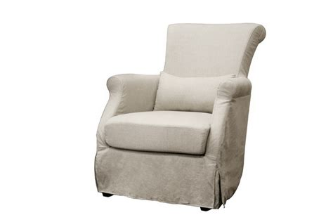 club chair slipcovers calista modern beige linen slipcover club chair ebay