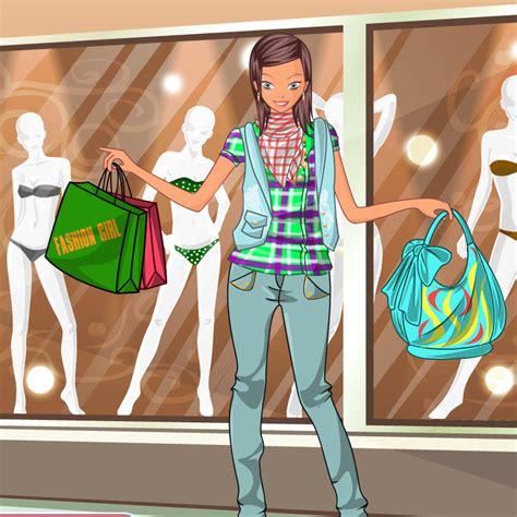 juego de salir de compras juego de peinar y vestir para salir con un famoso peinado