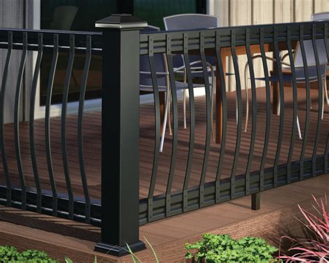 Outdoor Balusters Arc Aluminum Balusters Deckorators