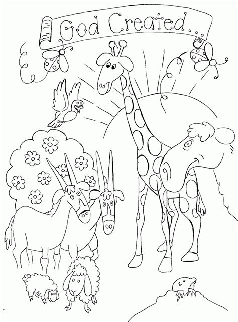 Genesis 1 Coloring Page by God Created To Coloring Dibujos Cristianos Para Colorear