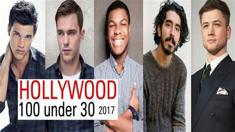 top hollywood stars under 30 100 young male actors under 30 hollywood rising stars