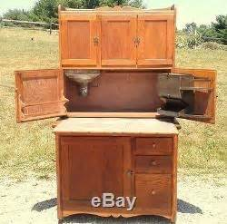 antique kitchen cabinet with flour bin antique 1900 hoosier oak kitchen cabinet with sugar bin