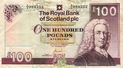 the royal bank of scotland the royal bank of scotland plc 100 pounds exchange yours