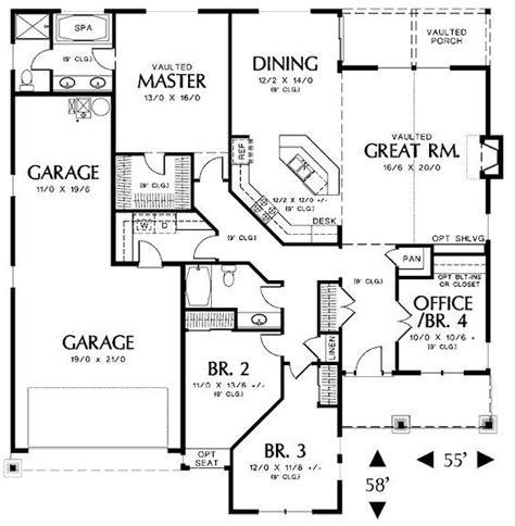 house plans under 2000 square feet 2000 sq ft floor plans 2000 square feet 3 bedrooms 2