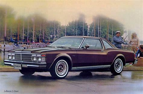 1979 Chrysler Lebaron by Car Show Classic 1979 Chrysler Lebaron This One S