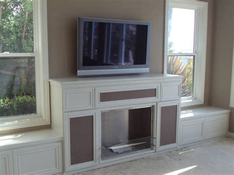 Fireplace Bench by Fireplace Bench Seating Built In Cabinet And Bench Seats