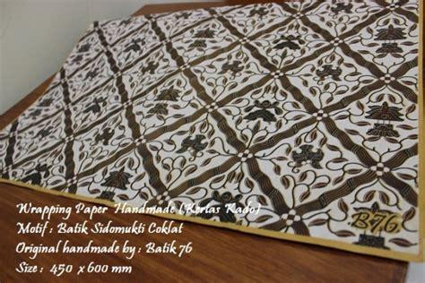 Bungkus Kertas Kado Tambahan wrapping paper kertas pembungkus kado motif batik