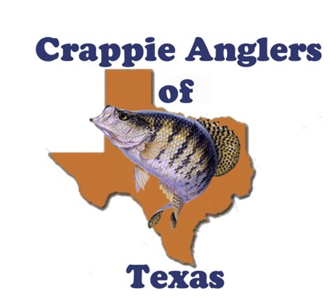 crappie anglers  texas january media release