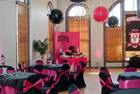 Pink And Black  Ee  Sweet Ee   Sixteen Evite
