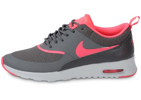 nike air max thea grise rose chaussures chaussures