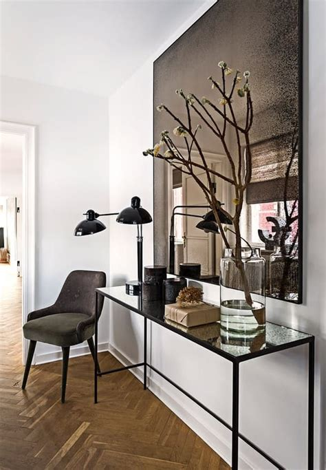 Modern Entryway Table Ideas 25 Best Ideas About Modern Entryway On Mid