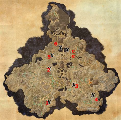 coldharbour treasure map coldharbour treasure map locations elder scrolls guides