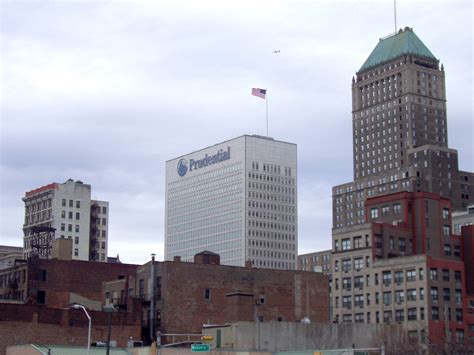 Sheds Newark by Prudential Financial Buildings