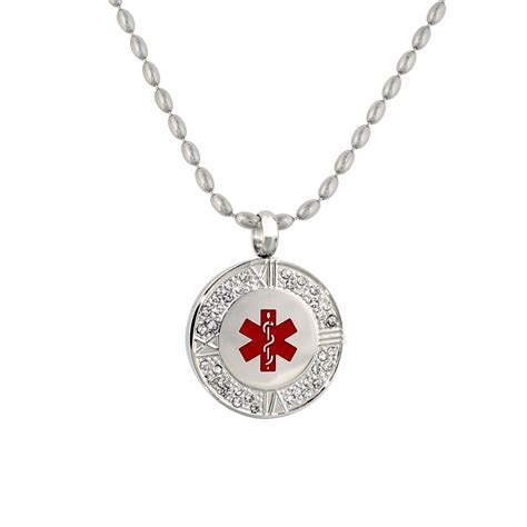 pendant alert necklace by american id