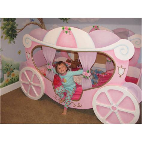 princess carriage bed petite by tanglewood design