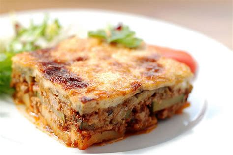 moussaka recipe dishmaps