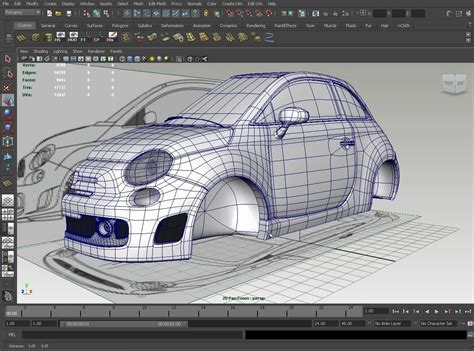Car Reference For 3d Modeling