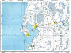 florida ta map ta florida 1950