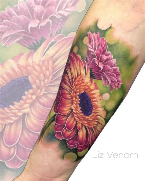 gerbera flower tattoo designs best 25 gerbera ideas on