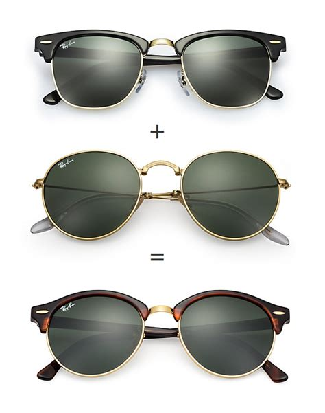 Ray Ban Clubround Sunglasses   Bonjourlife