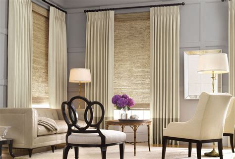 window treatments with blinds and curtains amazing living room window treatment ideas design window