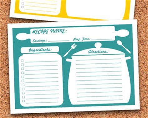 fillable recipe card template best photos of typable newspaper report template