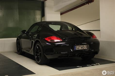 porsche cayman 2015 black porsche cayman s mkii black edition 22 august 2015